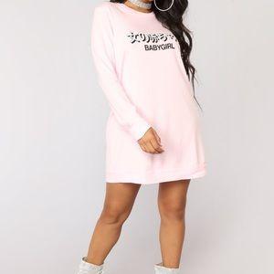 Babygirl Fashion Nova Tunic Dress